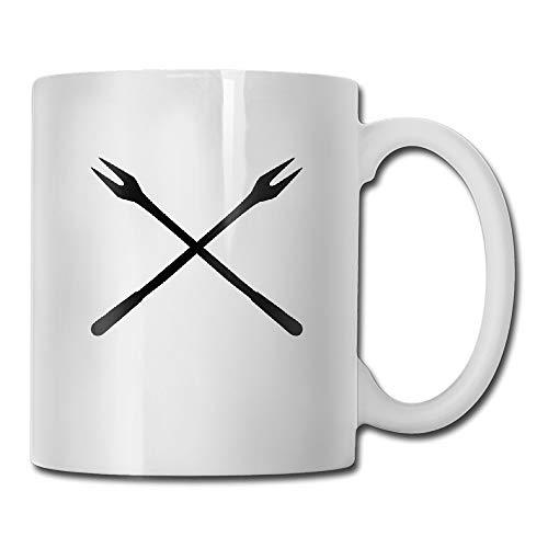 Fondue Forks Coffee Mug