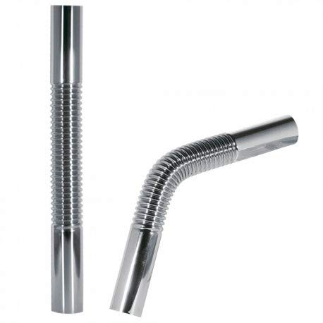 Tres Griferia - Tubo Coarrugado Flexible De Latón Para Sifón Botella 300 Mm (913463330)