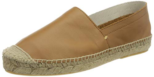 PIECES Female Espadrilles Leder 38Toasted Coconut