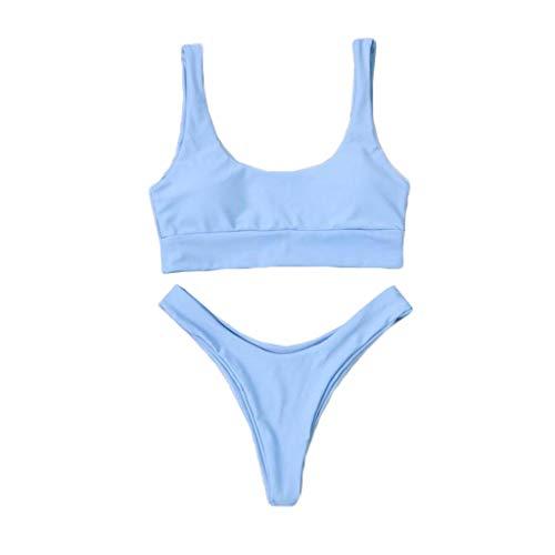 ZODOF Bikinis Mujer, Push-Up Conjunto Bikini Brasileño