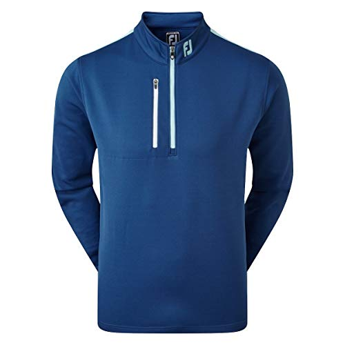 Footjoy Sleeve Stripe Chill-Out Pull pour Homme Bleu, XXL