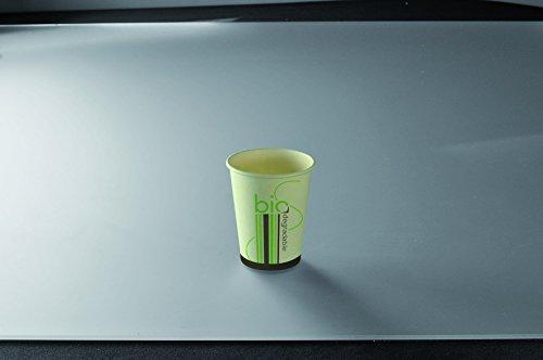 Adiserve 50 Gobelets Blanc biodégradable 24cl