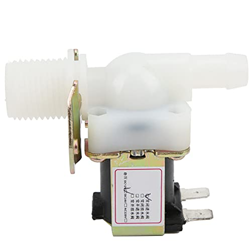 Válvula de solenoide de agua Plástico eléctrico Normalmente cerrada Entrada de agua Salida G1 / 2 a 12 mm DC 12V Interfaz Válvula solenoide Piloto Neumática Plomería Válvula de control de agua para to