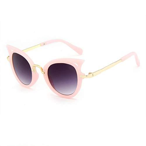 N/ Een Leuke Kids Zonnebril Jongens Meisjes Kat Oog Zonnebril Baby Outdoor Veiligheidsbril Mode Kinderen Brillen UV400