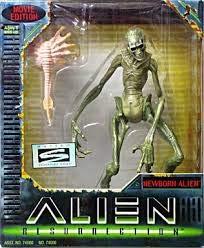 Hasbro Figurine Alien Resurrection : Newborn Alien Movie Edition