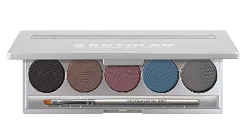 Kryolan CAKE EYE LINER SET 5 COLORS 5329 STANDARD 1 Professional Grade Makeup