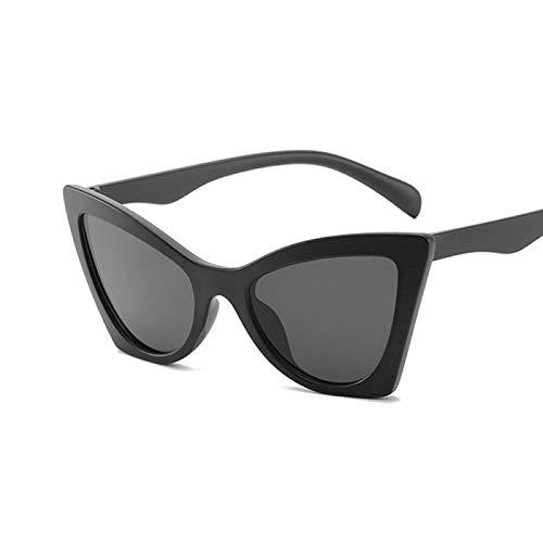 Único Gafas de Sol Sunglasses Moda Mujer Gafas De Sol De Ojo De Gato Casual Ladies Cateye Retro Vintage Gafas De Sol Uv4