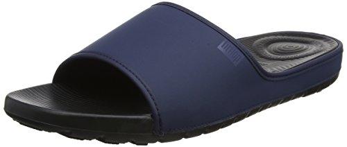 Fitflop Lido Slide Sandals in Neoprene, Femme, Bleu Marine Midnight, 41 EU