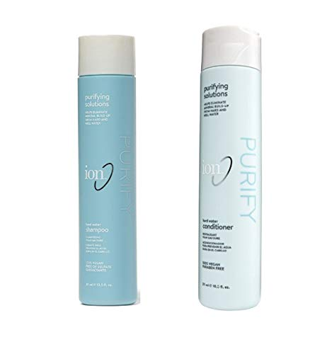 ION Hard Water Shampoo & Conditioner SET, 10 oz with FREE...