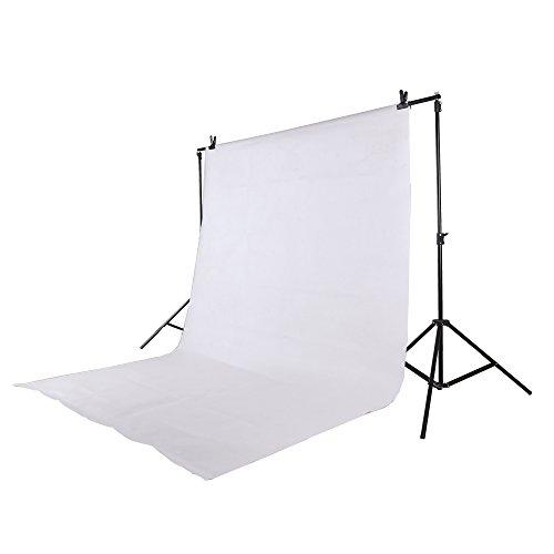 Epower Studio 6 x 9FT / 1,8 x 2,8 M Photo Studio 100% pure Muslin Opvouwbare achtergrond achtergrond voor fotografie, video en televisie