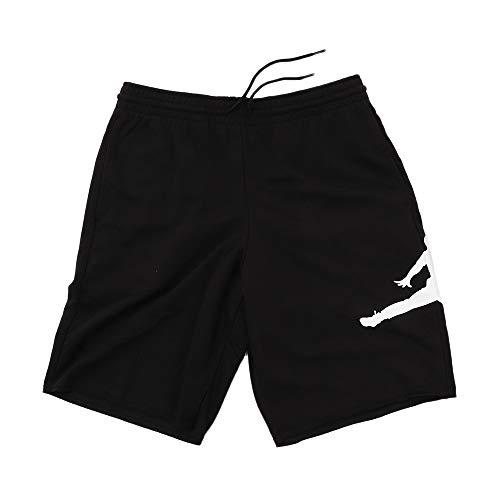 Nike Herren Jordan Jumpman Air Fleece Shorts, Black/White, L