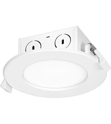 Satco S29057 LED-Einbaustrahler, 8,5 W, Kantenbeleuchtung, 10,2 cm, 4000 K, 120 V, dimmbar, 12 Stück