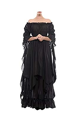 NSPSTT Gothic Witch Dress