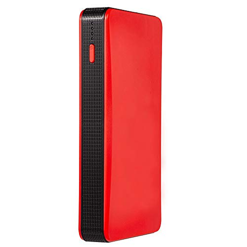Muti-fuction Mini Tragbare 12V Auto Battey Starthilfe Auto Motor Batterie Ladegerät Power Bank Auto Booster Batterie,red
