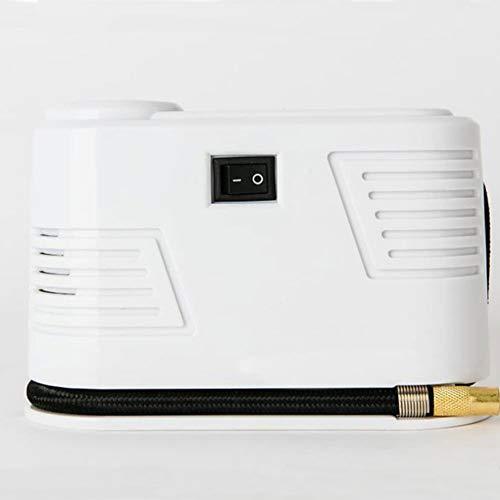 ZOUSHUAIDEDIAN Inflador de neumáticos de 12V DC, bomba de compresor de aire portátil for neumáticos de automóvil, bomba de neumáticos automáticos, medidor de presión digital for automóvil, SUV, bicicl