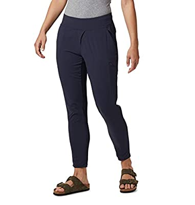Mountain Hardwear Womens Dynama Ankle Pant for Climbing, Hiking, Cross-Training, or Everyday Use - Dark Zinc - Small - 28