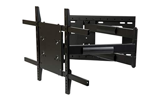 """THE MOUNT STORE TV Wall Mount for Hisense 65"""" Class LED H9F Series 2160p Smart 4K UHD TV with HDR Model 65H9F VESA 400x200mm Maximum Extension 40 inches"""