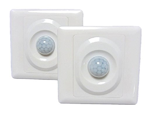 CPGS 2個セット 人感 スイッチ 赤外線+光 センサー 日本語説明書付