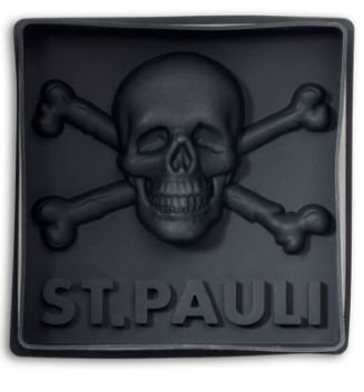FC ST.PAULI bakvorm doodshoofd