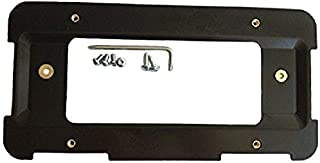 Trunknets Inc Rear License Plate Base Mount Bracket for BMW 1 Series 2 Series 3 Series + 6 Unique Screws & Wrench