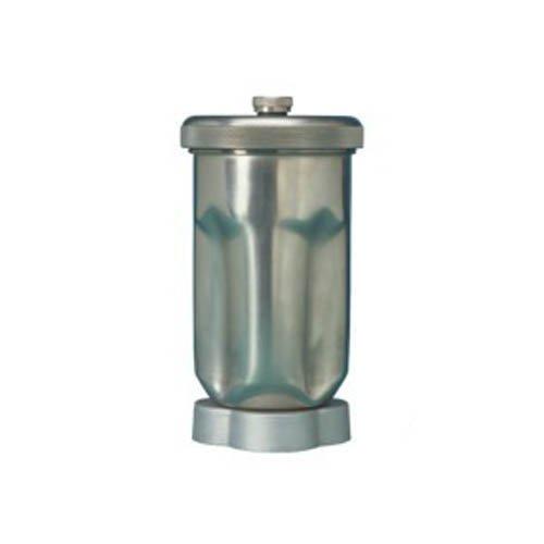 Neolab 3-2096 roestvrijstalen beker met deksel en messenset voor 3-2095, 1 l