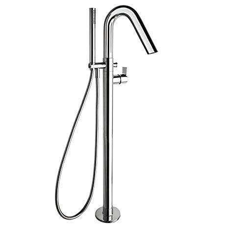 Ramon Soler RS-Q – Grifo monomando para bañera y ducha (con columna de soporte)