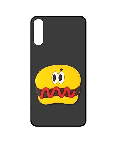 Sunrive Kompatibel mit Xiaomi Black Shark 2 Hülle Silikon, Ständer Fingerhalter Fingerhalterung Handyhülle matt Schutzhülle Etui Hülle (Hot Dog) MEHRWEG