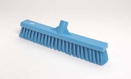 VIKAN Blue Polyester Medium Sweeping Combo Floor Broom