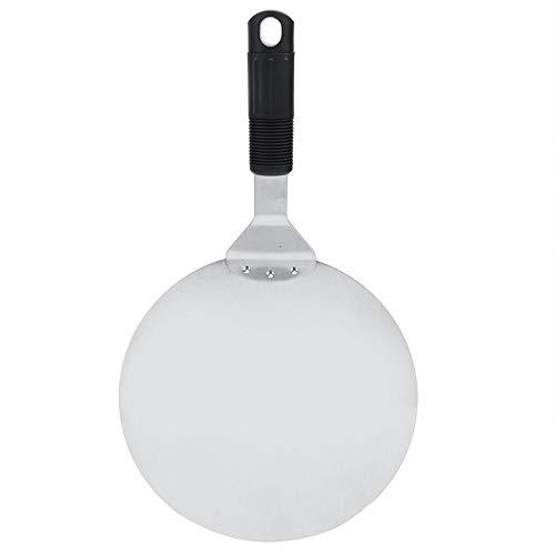 Palas para pizza de acero inoxidable redondas de 10 pulgadas, pala para hornear, paleta, accesorios de cocina, herramientas de pastelería(10 inch)