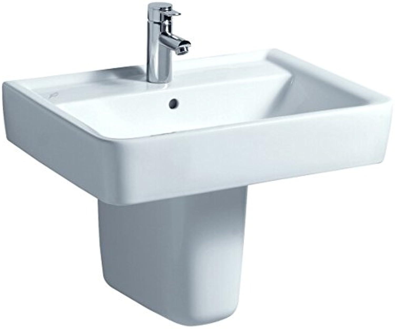 Keramag Waschtisch Renova Nr.1 Plan 65x48cm, wei, 222265000