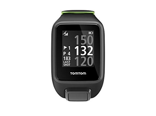 Tomtom Golfer 2 Special Edition GPS Watch- Reloj de Golf, Negro (Black/Green), L