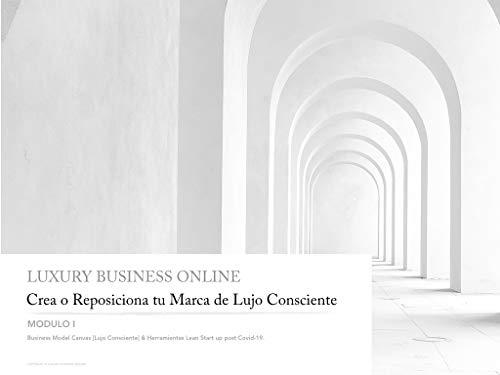 Crea o Reposiciona tu Marca de Lujo Consciente: Business Model Canvas [Lujo Consciente] & Herramientas Lean Start Up post Covid-19. (Modulo nº 1) (Spanish Edition)