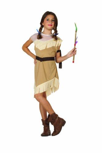 RG Costumes Native American Girl Costume, Brown, Medium