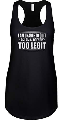 Blittzen - Camiseta sin mangas para mujer -  Negro -  Medium