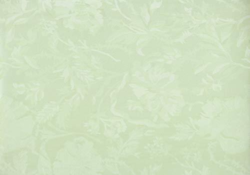 Centra24 Premium Wachstuchdecke, Damast 100x140cm, Oeko-Tex Standard 100 Zertifiziert, zuschneidbar, Leinenoptik, Wachstischdecke, Wachs, Tischdecke (Damast-Mintgrün, 100x140cm)
