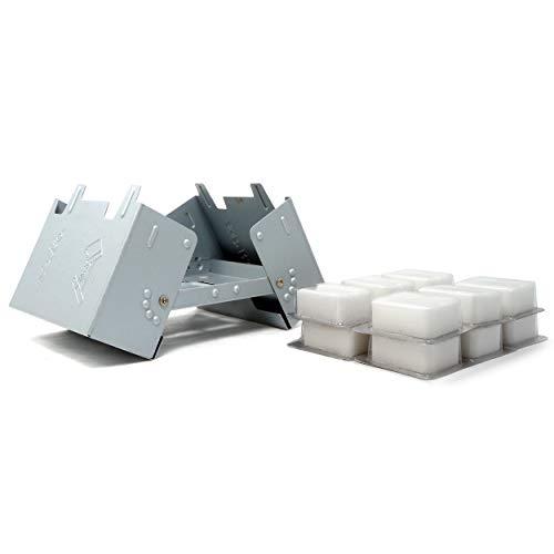 Esbit Large Ultralight Folding Pocket Stove with 12/14gm Solid Fuel Tablets
