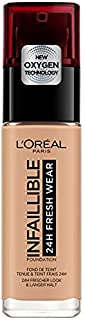 L'Oreal Paris Infallible Liquid Foundation 24H Fresh Wear - 230 Radiant Honey (30ml)