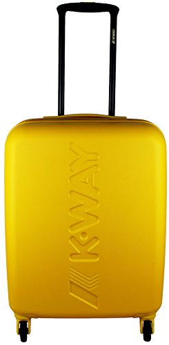 Trolley Cabina Mini Uomo Donna K-WAY K-Air Cabin Trolley K1G01-Giallo