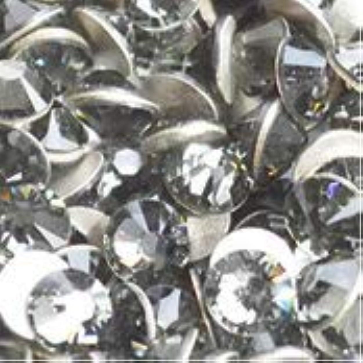 スワロフスキー ラインストーン【SS3】【ブラックダイアモンド】