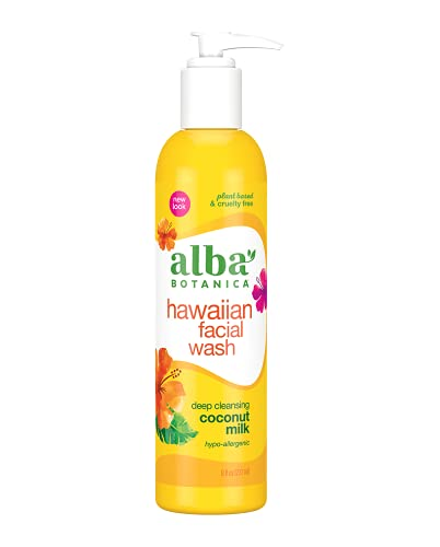 Alba Hawaiian Coconut Milk Facial Wash
