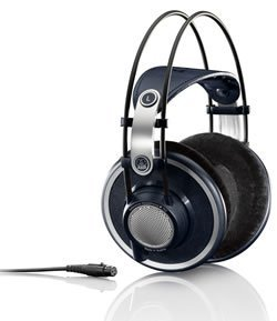 AKG K702 Open-Back Over-Ear Premium Studio Reference Headphones