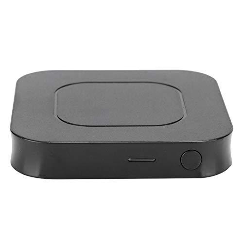 Cuifati Receptor transmisor Bluetooth 5.0, transmisor Receptor Bluetooth, Kit Adaptador de Audio, para Auriculares Bluetooth, la mayoría de Audio, amplificadores de Potencia, teléfonos móviles