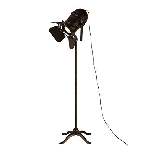 DSJ Staande lamp studiokamer high-power lamp gepersonaliseerde restaurant retro creatieve vloerlamp led-spotlight