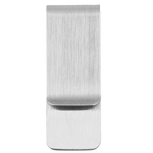 1 Stück Hohe Qualität Edelstahl Metall Geld Clip Metall Edelstahl Geld Clip Ordner Kragen Clip Halter für Tasche Geldbörse