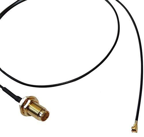 Aerzetix adapter antennekabel GSM-IPX U.FL IPEX naar SMA verlenging 50 cm C14896