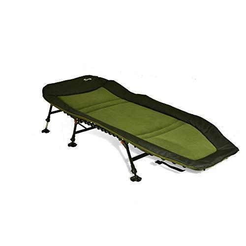 CarpOn 8-Bein Angelliege Liege Camping Bed Outdoor Bett Camping 208 cm Lang