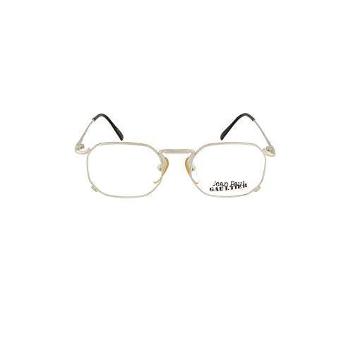 Jean Paul Gaultier Luxury Fashion Herren 558175SILVER Silber Metall Brille | Jahreszeit Permanent