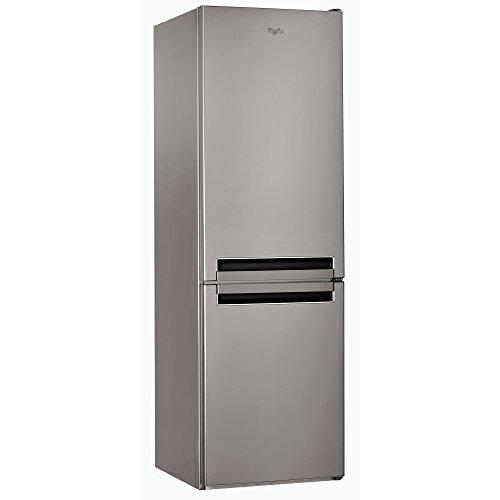 Whirlpool BLF 8121 OX Libera installazione 339L A+ Acciaio inossidabile frigorifero con congelatore