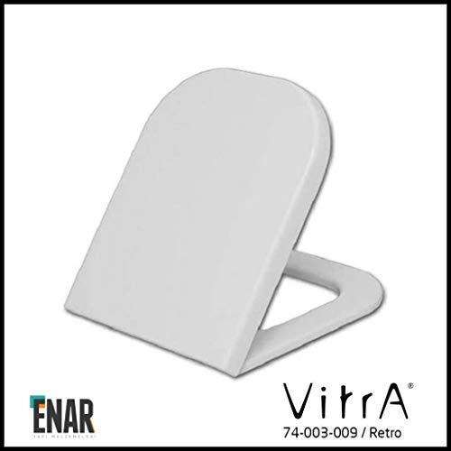 VitrA Retro WC-Sitz mit Absenkautomatik 74-003-009 weiß