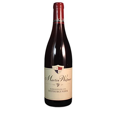 Weingut Martin Waßmer 2017 Spätburgunder Markgräflerland Qualitätswein trocken 0.75 Liter